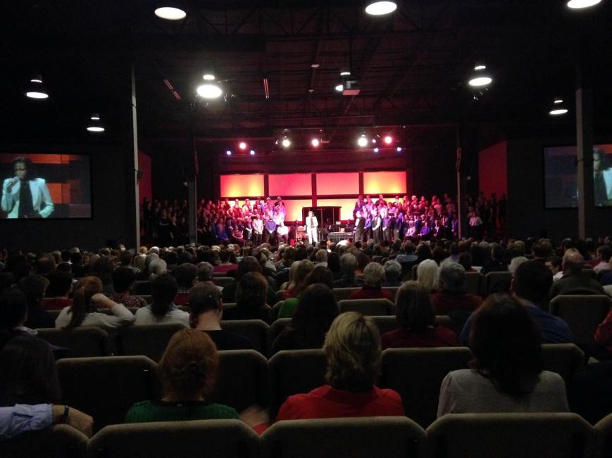 Speaking at the Summit Church