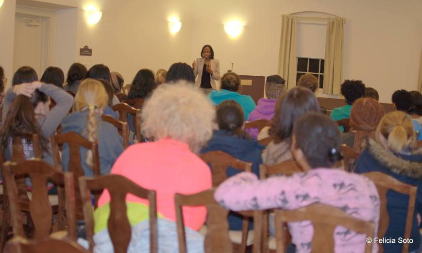 Speaking to Salem College Student about Forgiveness